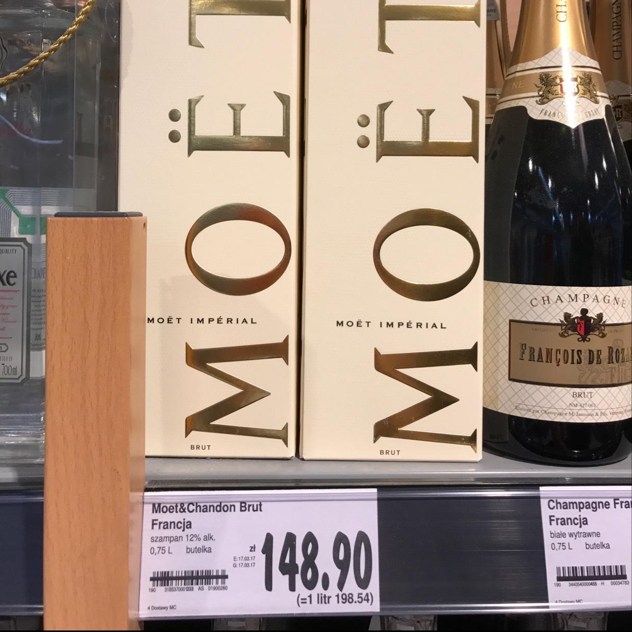 Wino musujące dla bogatych ponad 50 zł taniej w Kauflandzie