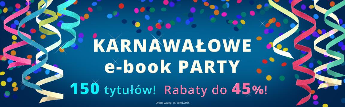 Karnawałowe e-book party (rabaty do 45%, 150 tytułów) @ Woblink