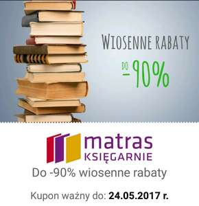 Wiosenne Rabaty w MATRAS do -90%