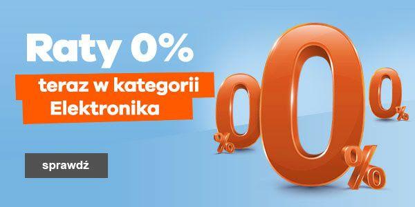 Raty 0% w kategorii Elektronika @Allegro