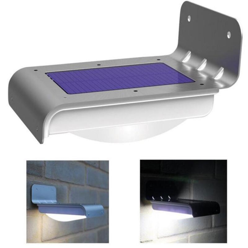 5x lampa solarna LED z czujnikiem ruchu, wodoszczelna za ~120zł @ Tmart