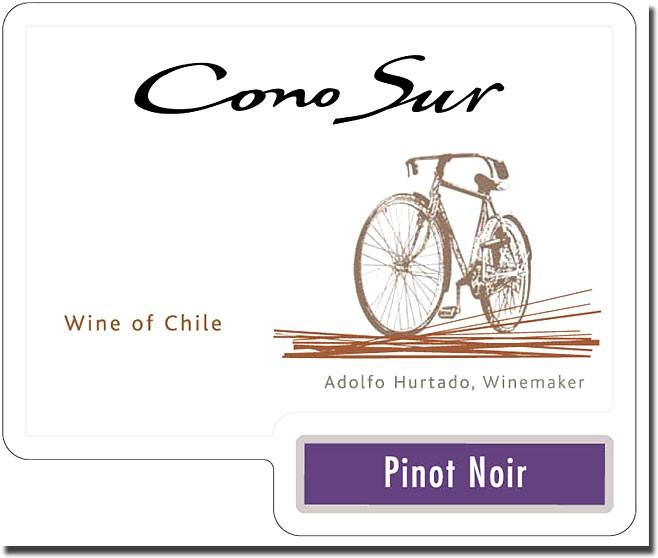 wino CONO SUR PINOT NOIR