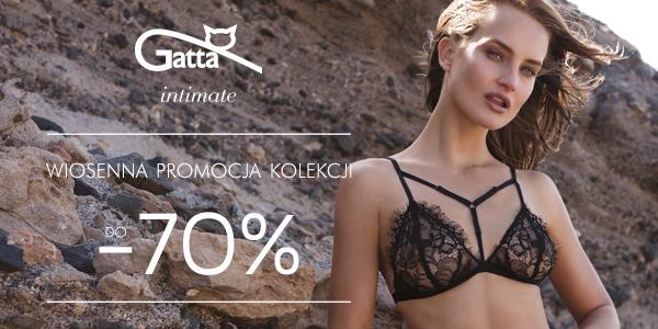 GATTA Intimate - wiosenna promocja kolekcji  (DO -70%)