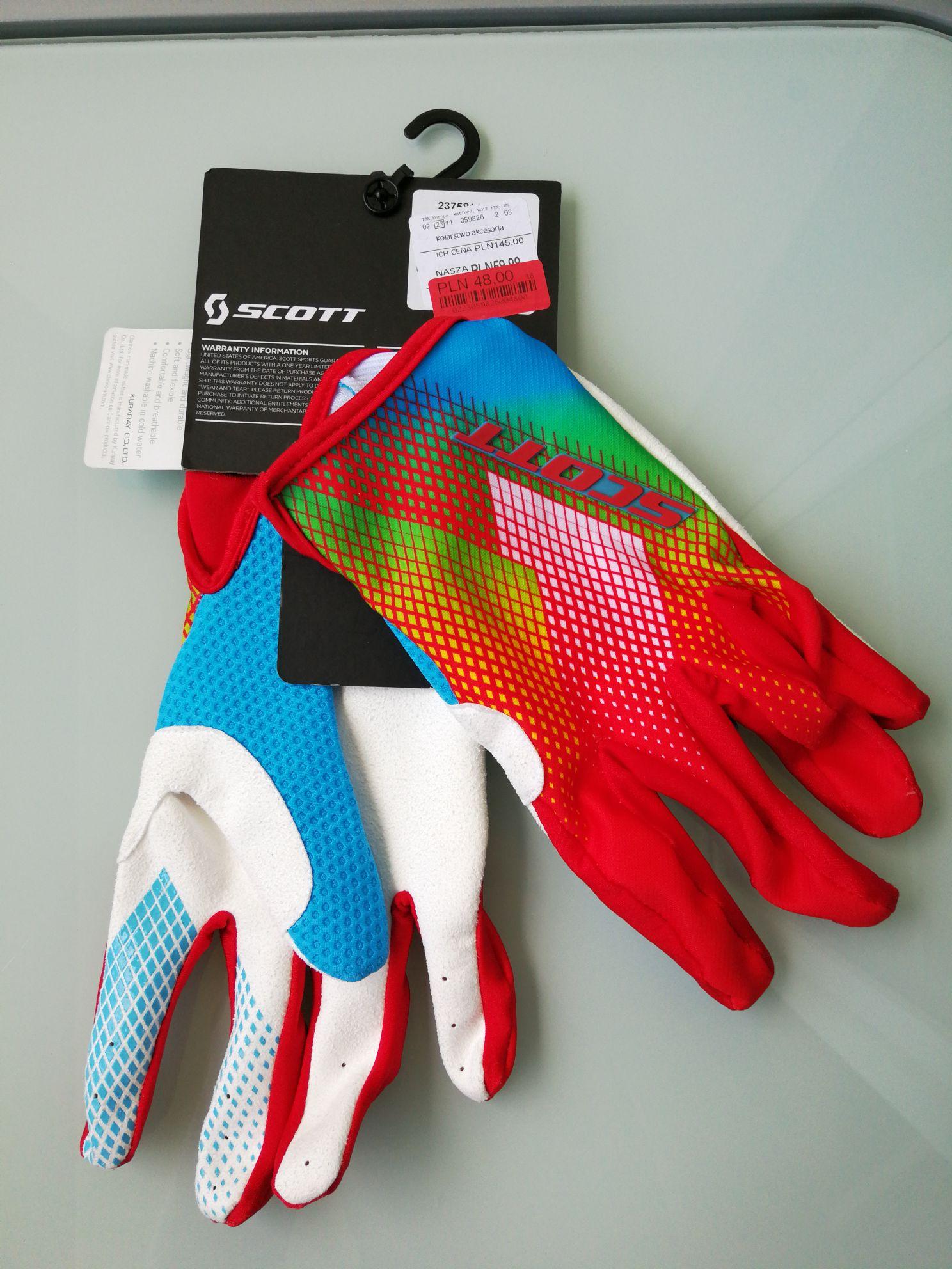 Rękawiczki Scott dirt 350