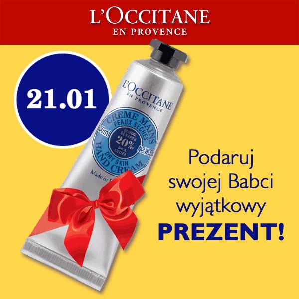 Krem do rąk o wartości 30zł w prezencie przy zakupach za 100zł @ L'Occitane