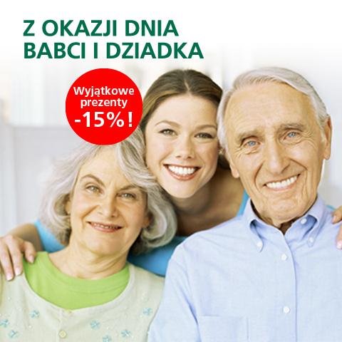 Rabaty do 15% z okazji dnia Babci i Dziadka @ BZWBK