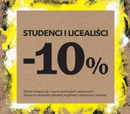 10% rabatu dla studentów i licealistów @ New Look