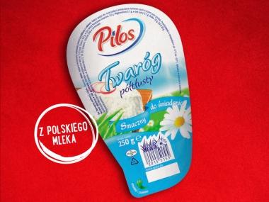 Twaróg półtłusty Pilos 1,79zł za 250g @ Lidl