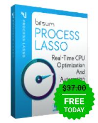 Process Lasso Pro 9 @GOTD