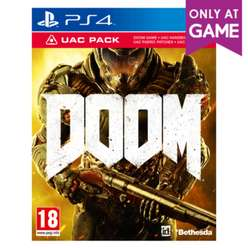 DOOM + UAC Pack (PS4, XONE) za ok. 57zł @ Game