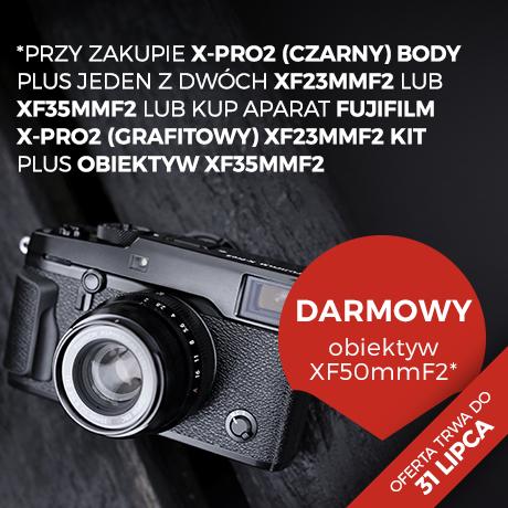 Darmowy obiektyw do Fujifilm X-Pro2