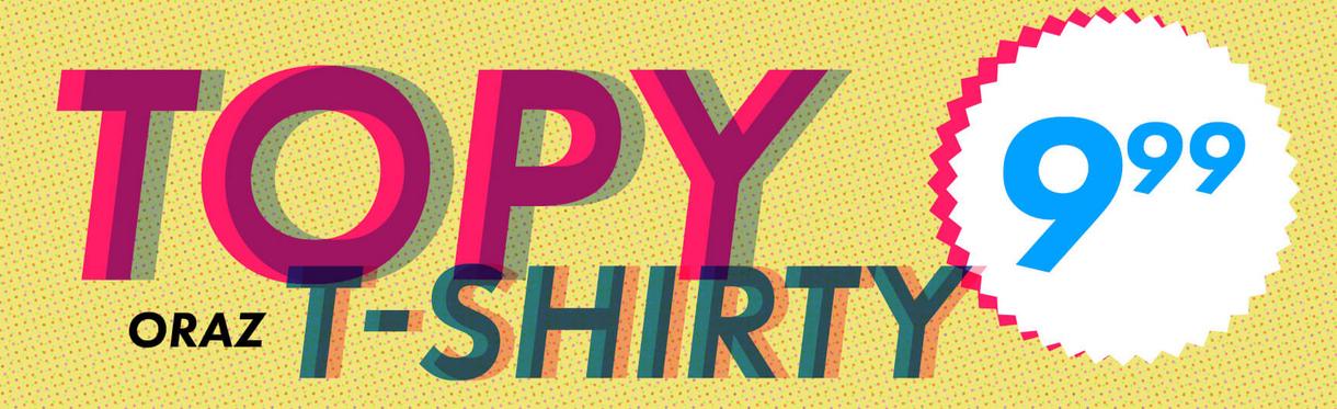 T-shirty i topy po 9,99zł @ Sinsay