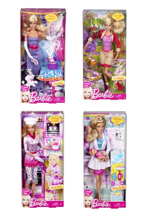 Lalka Barbie + akcesoria (firmy Mattel) za 29zł @ Lidl