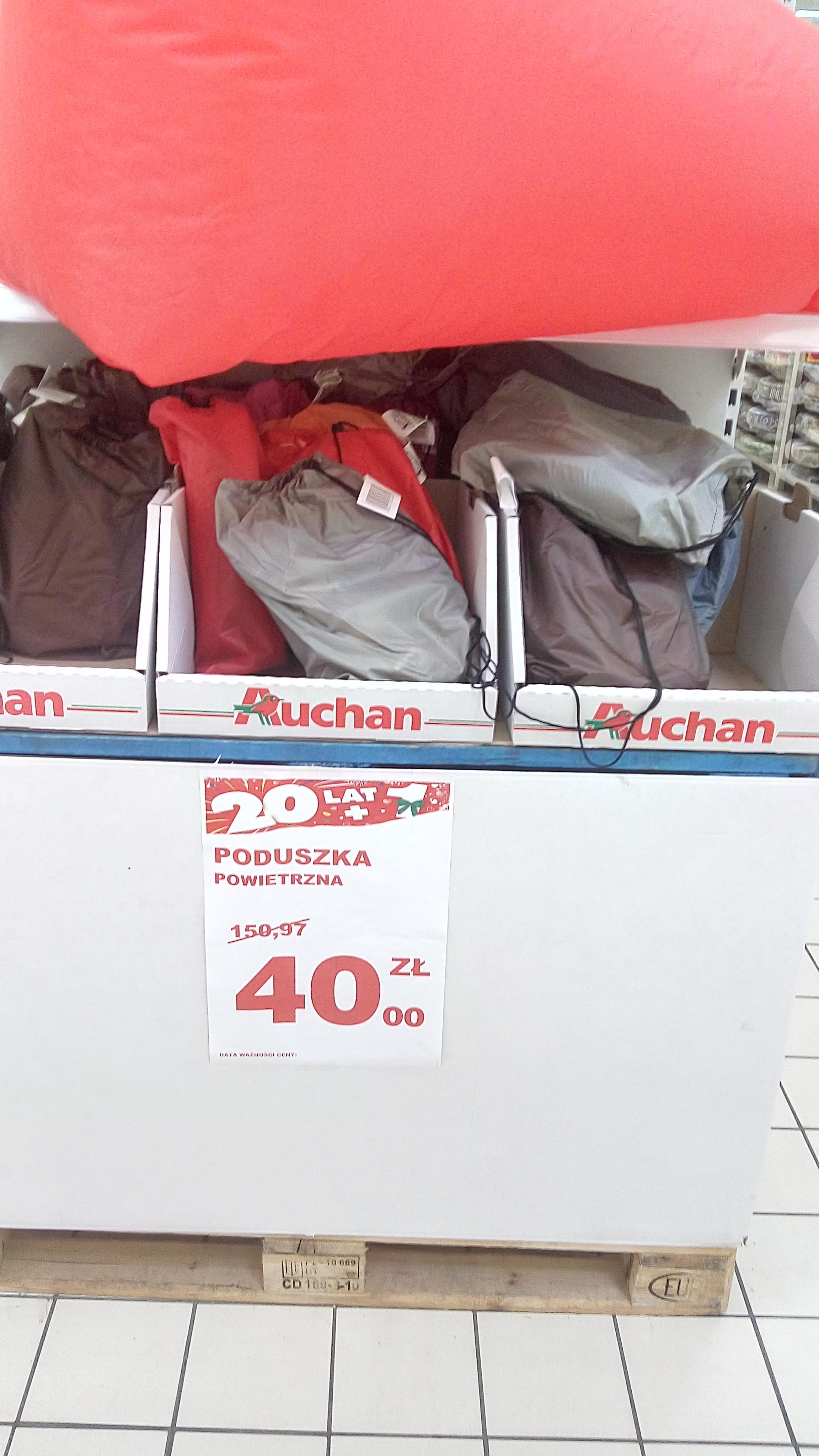 Lazy Bag, lazy sofa czy też sofa powietrzna za 40zł - Auchan Pasaż Łódzki