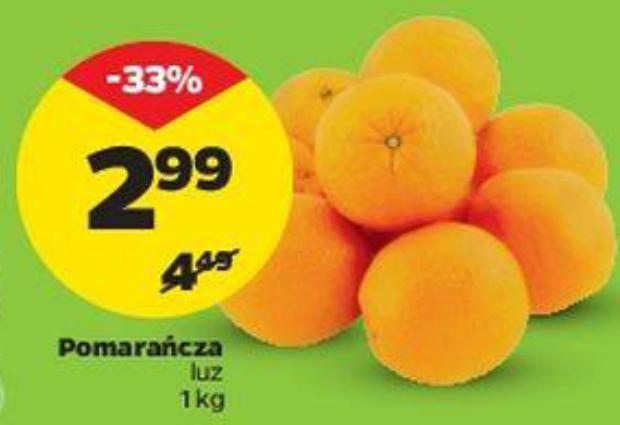 Pomarańcza luz kg @Netto