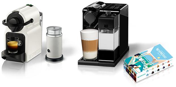 Promocje przy zakupie wybranych ekspresów Nespresso (100 kaw za 1zł, spieniacz mleka + zestaw kaw za 92zł) @ KRUPS