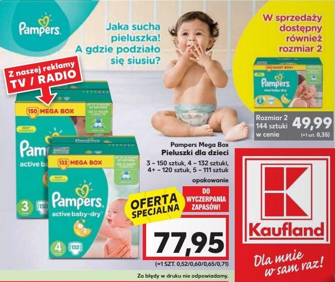 Pieluszki PAMPERS Active Baby-Dry @ Kaufland