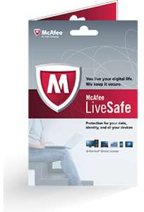 McAfee LiveSafe™ - ADT® Security Edition  2017 za Free na 1 rok