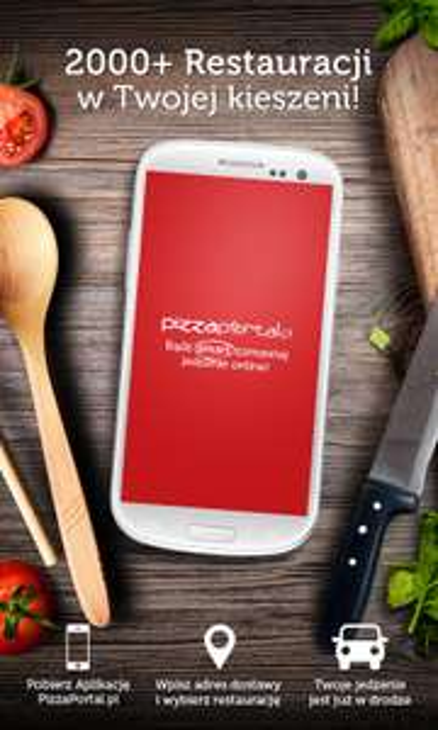 20% zniżki na jedzenie na wynos przy zamówieniu poprzez aplikację mobilną @ Pizzaportal 