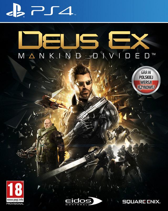Deus Ex Mankind Divided na PS4 za 44 zł!