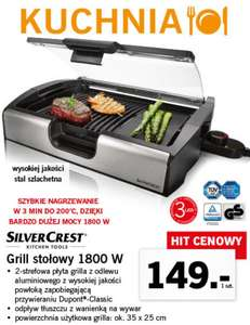 523027518d Grill stołowy Silver Crest 1800W Lidl - Pepper.pl