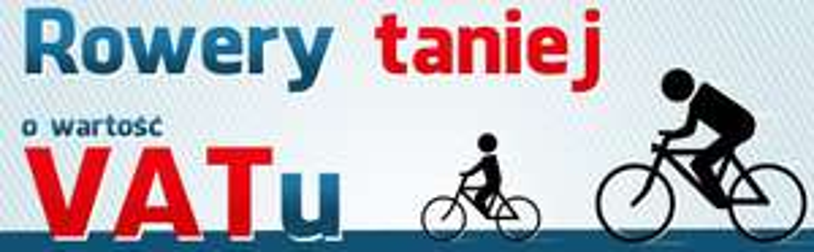 Rower taniej o wartość VAT @ Ole Ole!