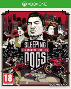 Sleeping Dogs - Definitive Edition + Artbook za 35zł [Xbox One] @ GramTanio