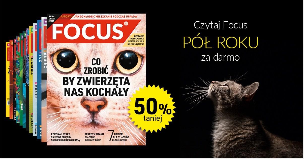 Magazyn focus 50% taniej - wydanie papierowe