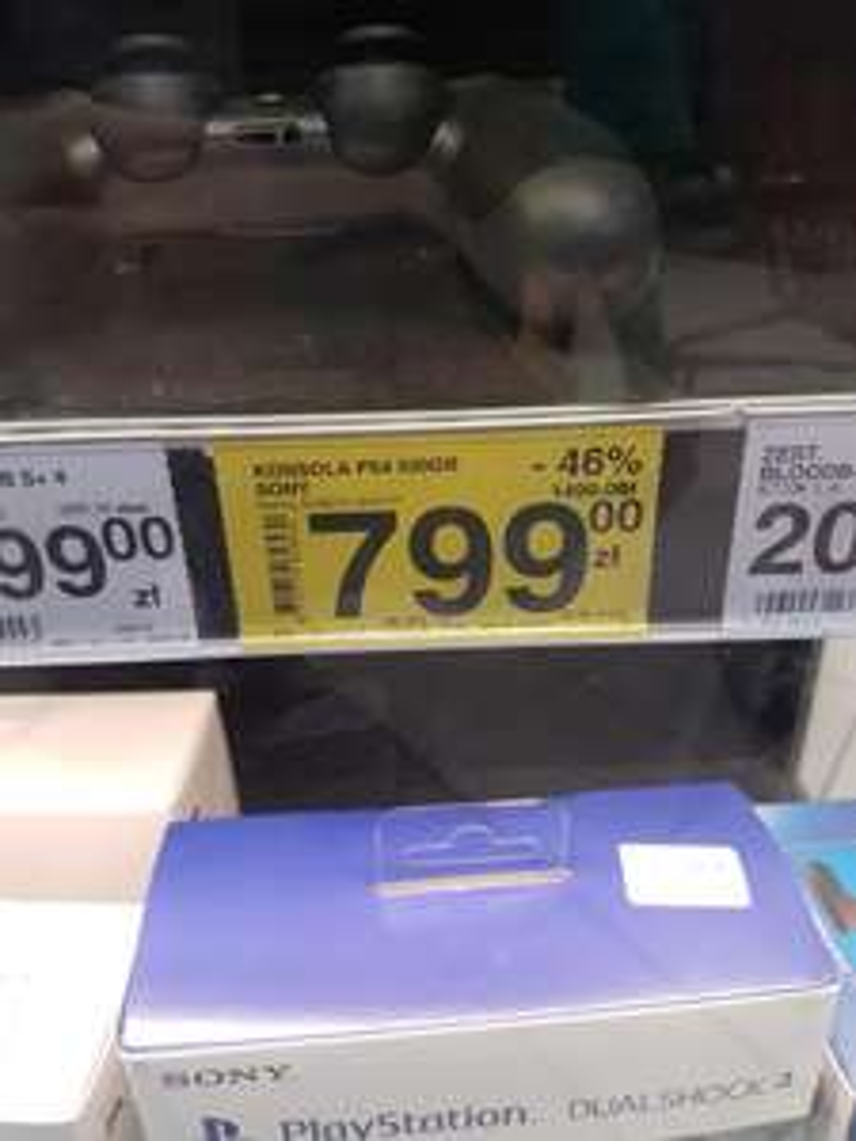 Konsola PS4 SONY 500GB (BIAŁYSTOK)