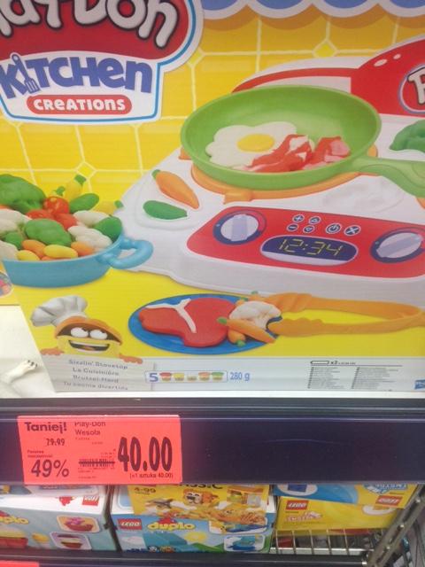 Zestawy Play-Doh przecenione o 50% @ Kaufland (Tarnobrzeg)
