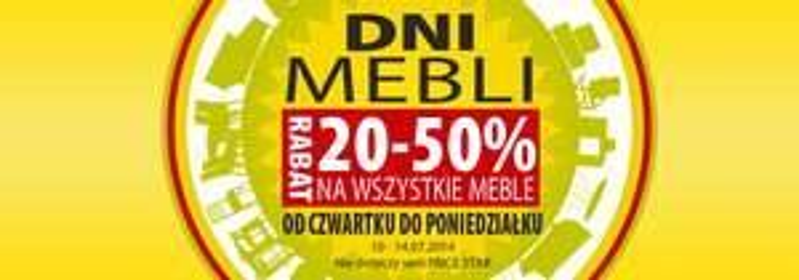 Rabat 20-50% na wszystkie meble @ Jysk