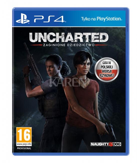 Uncharted 4: Zagionione Dziedzictwo @Karen 139zł