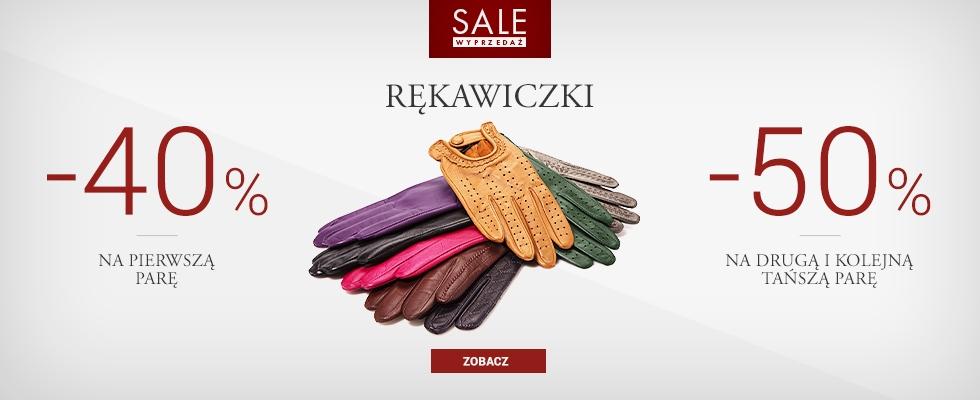 40% zniżki na 1 parę rękawiczek, 50% zniżki na 2 pary i więcej @ Wiitchen