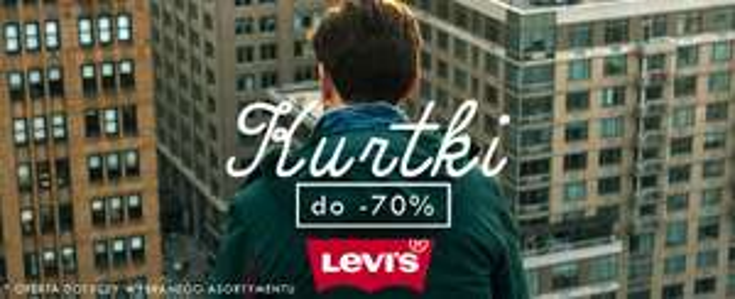 Do 70% rabatu na kurtki Levi's @ Bluestilo
