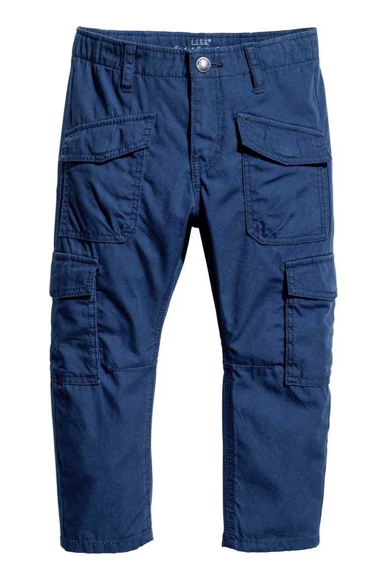 Dziecięce spodnie cargo za 25,11zł + dostawa gratis (45zł taniej, rozm.92-140) @ H&M