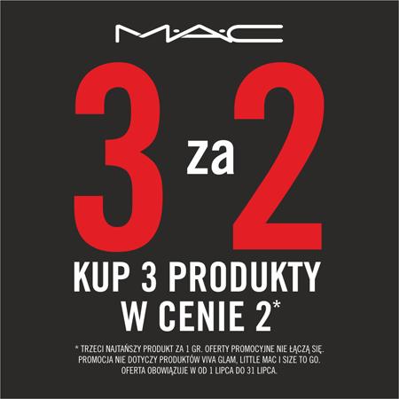 3 produkty w cenie 2 @ MAC