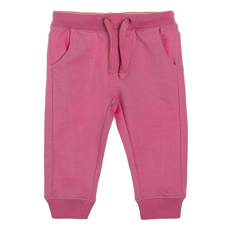 Dresowe spodnie dziewczęce za 12zł + opcja darmowej dostawy (rozm.62-92) @ Smyk