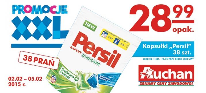 Kapsułki do prania Persil Expert Duo-Caps 38 szt. w cenie 28,99zł @ Auchan