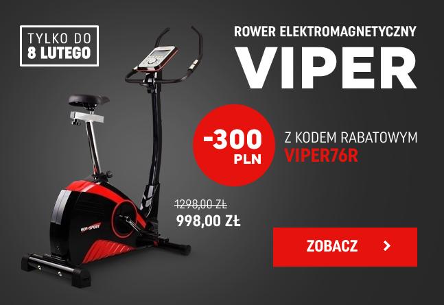 Rower elektromagnetyczny Viper HS-76R Hop-Sport  300zł taniej + wysyłka gratis @ Presto