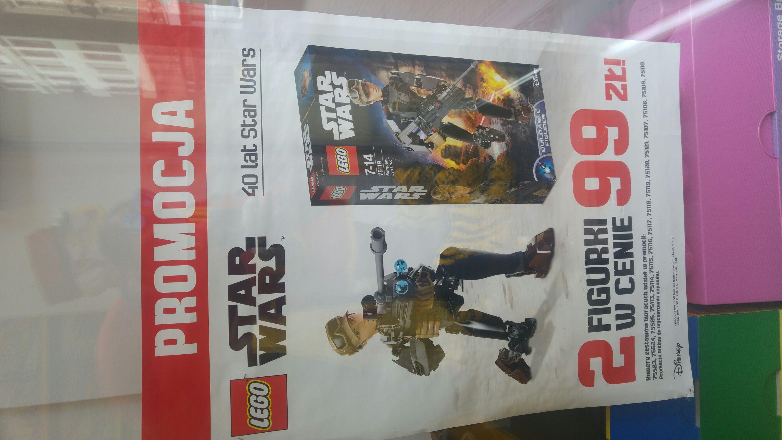 2 figurki Lego Star Wars za 99 zł (Gliwice, Katowice)