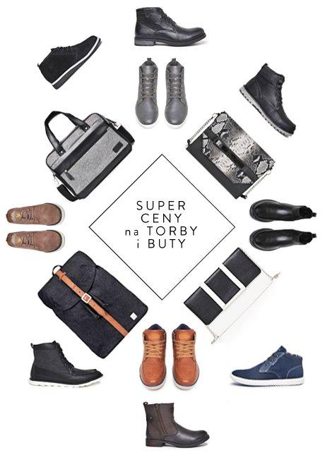 Torebki damskie za 39,99zł oraz torby i buty męskie za 49,99zł @ Top Secret