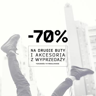 Aż 70% rabat na drugie buty i akcesoria z wyprzedaży @ Cropp