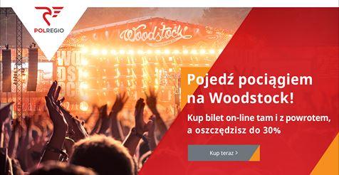 30% rabatu na bilety na pociąg MusicREGIO na Woodstock