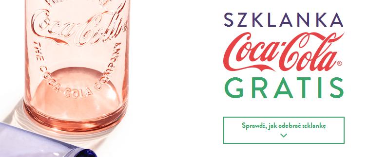 Szklanka Coca-Cola gratis do zamówienia @ McDonald's