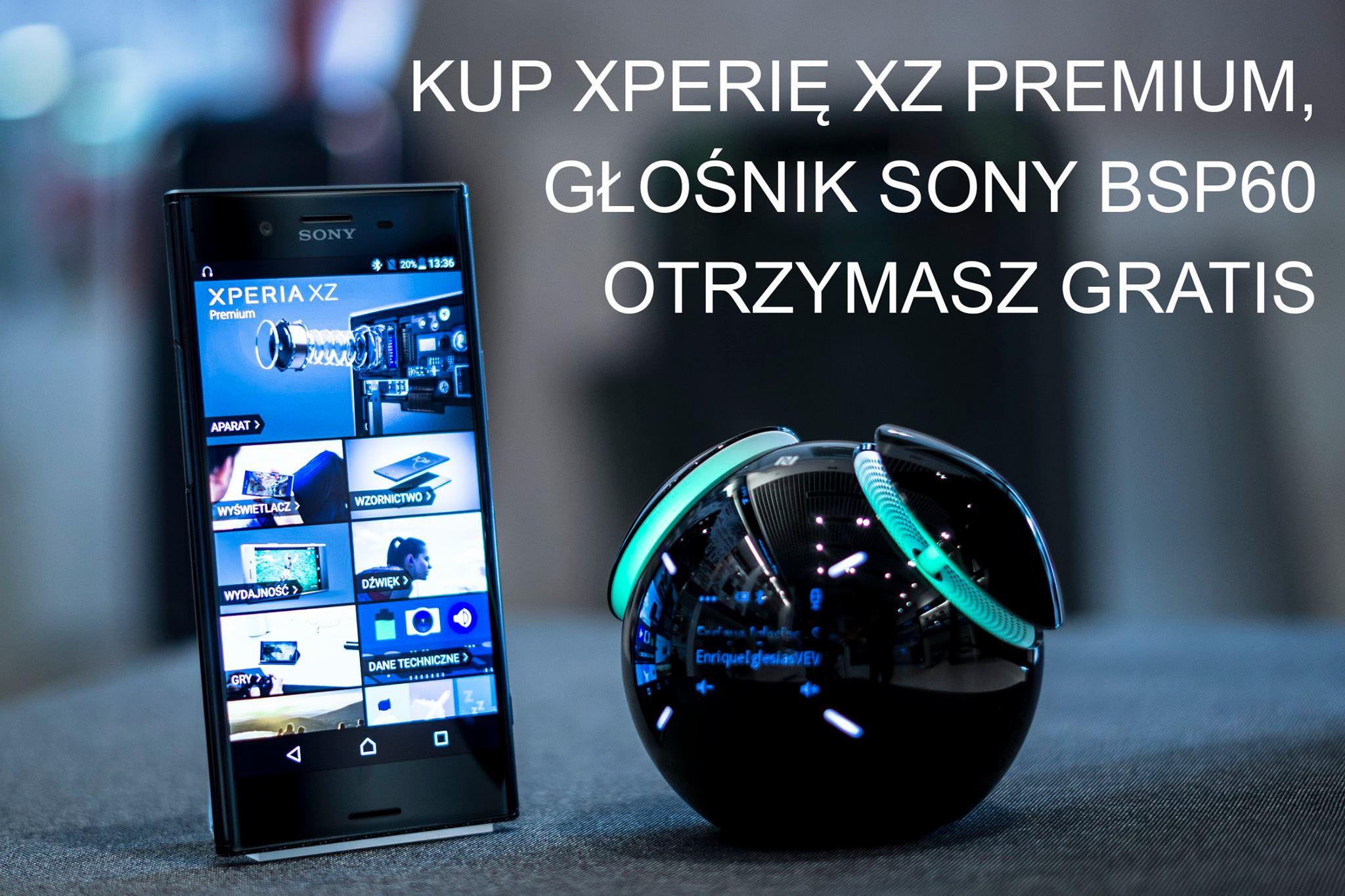 XPERIA XZ PREMIUM + BSP60 GRATIS
