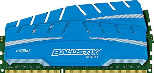Crucial Ballistix 8GB (2x4GB) DDR3 1600 CL9 @ Amazon.de (Prime) za 175zł