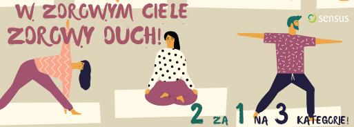 2 w cenie 1: joga, psychologia, zdrowie @ Sensus