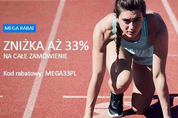 33% ZNIŻKI NA CAŁE ZAMÓWIENIE! @ MyProtein
