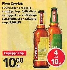 Piwo gatunkowe Żywiec APA Saison różne rodzaje - Tesco