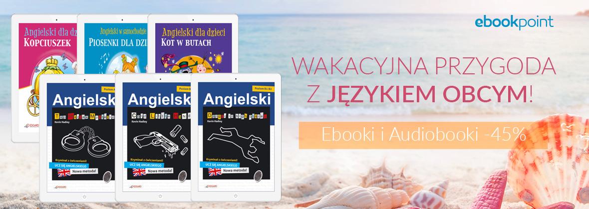 Język obcy na wakacje (ebooki i audiobooki) -45% @ ebookpoint